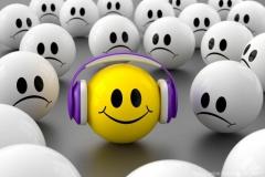 Smiley Musik für gute Laune