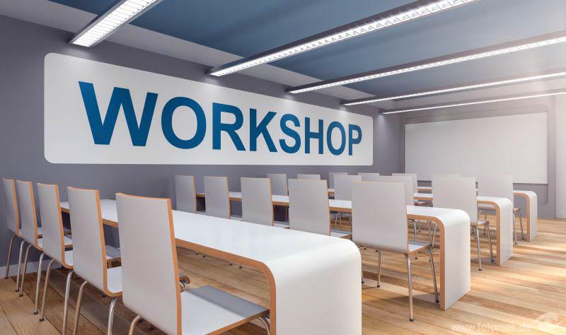 3d Konferenzraum für einen Workshop