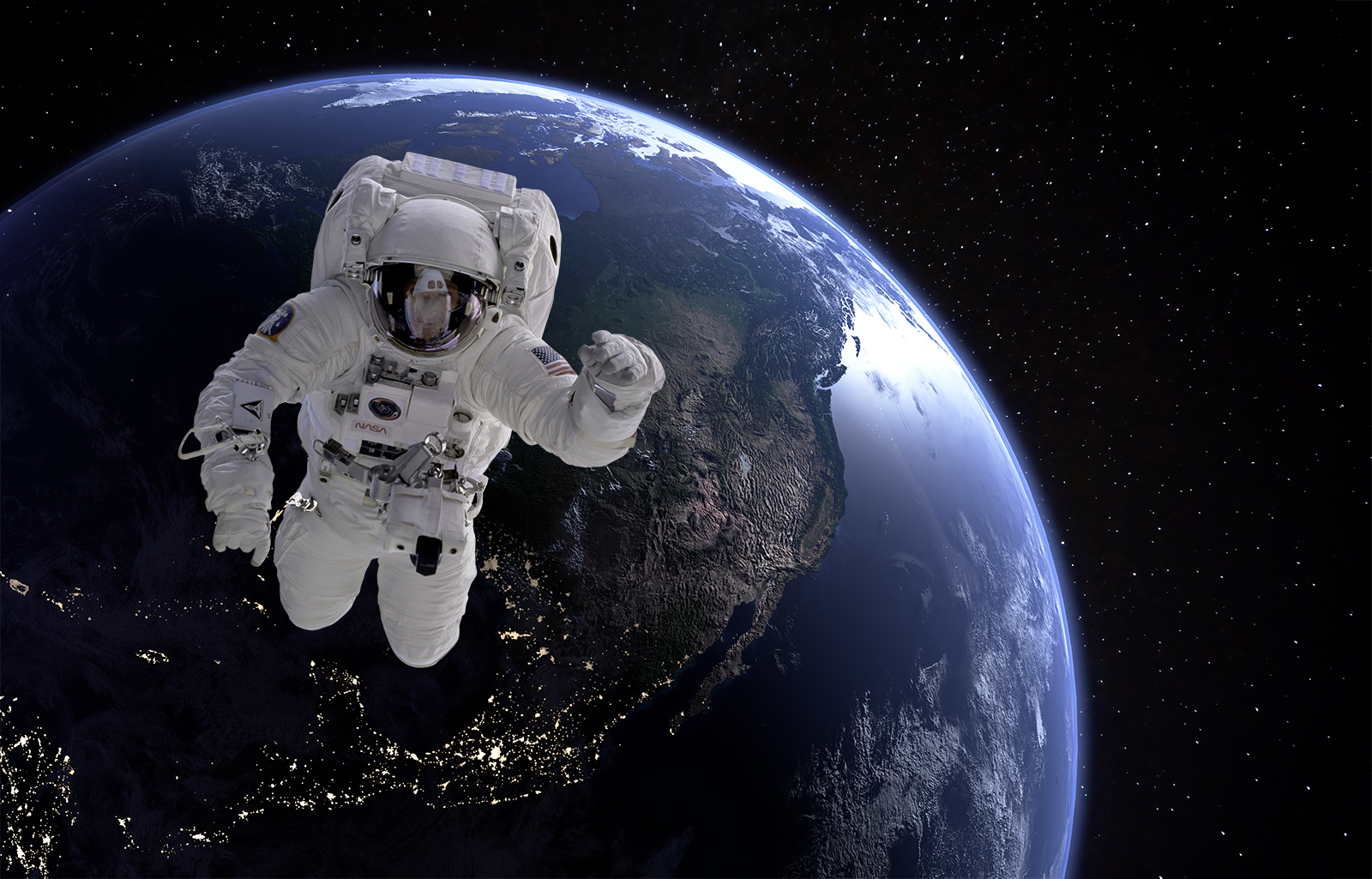 Astronaut vorher